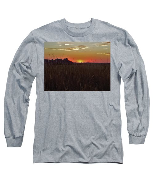 Sunset In The Badlands Long Sleeve T-Shirt