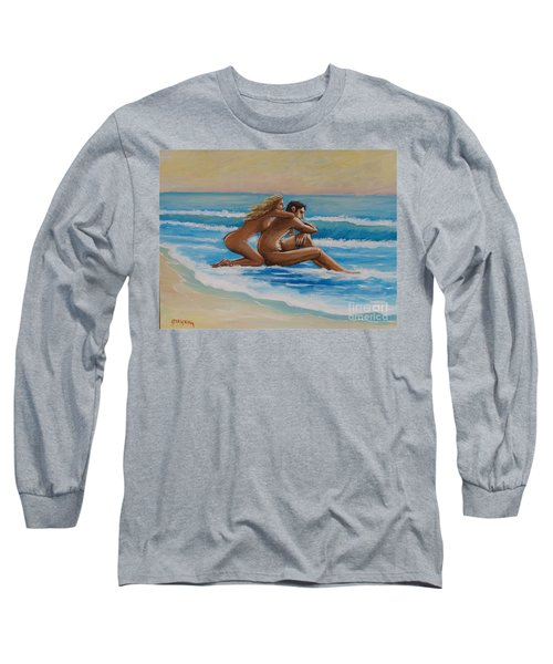 Sunset In The Beach Long Sleeve T-Shirt