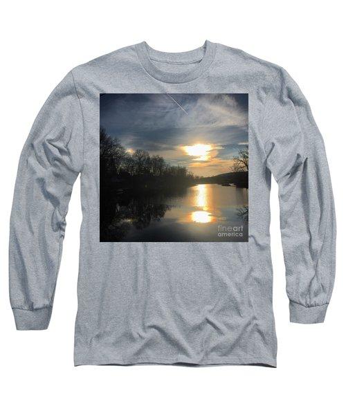 Sunset  Long Sleeve T-Shirt by Jason Nicholas