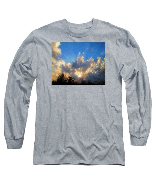 Long Sleeve T-Shirt featuring the photograph Sunset by John Freidenberg