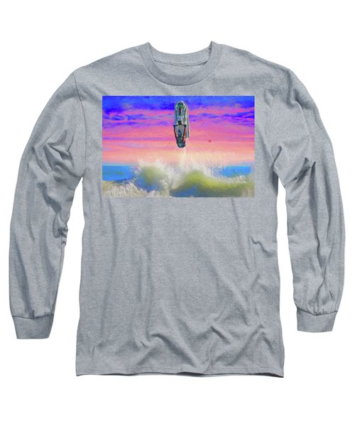 Sunset Jumper Long Sleeve T-Shirt by Alice Gipson
