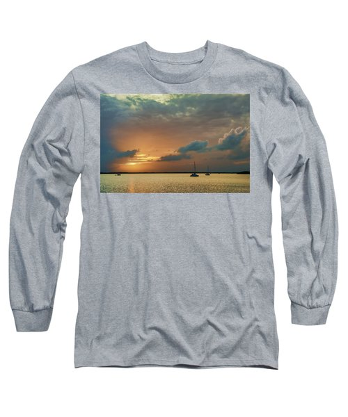Sunset, Key Largo Long Sleeve T-Shirt