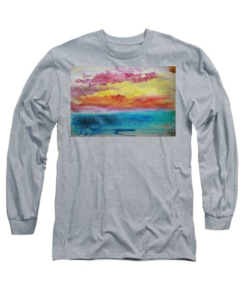 Sunset Lagoon Long Sleeve T-Shirt