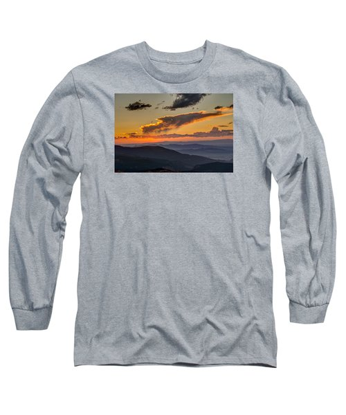 Long Sleeve T-Shirt featuring the photograph Sunset Layers by David R Robinson