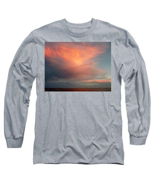 Sunset Moonrise Long Sleeve T-Shirt