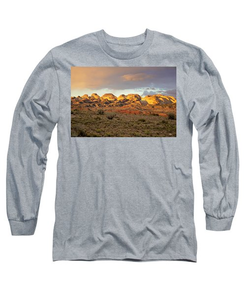 Sunset On Capitol Reef Long Sleeve T-Shirt