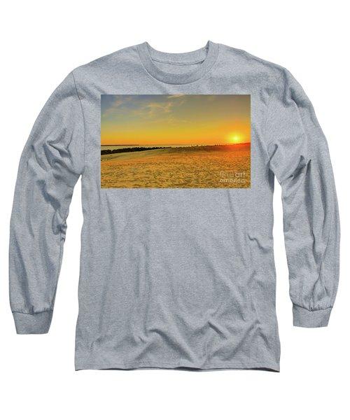 Sunset On Jockey Ridge Long Sleeve T-Shirt