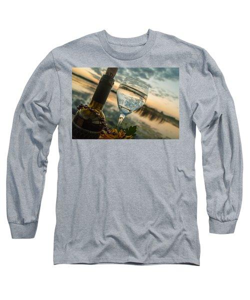 Sunset On The Lake Long Sleeve T-Shirt