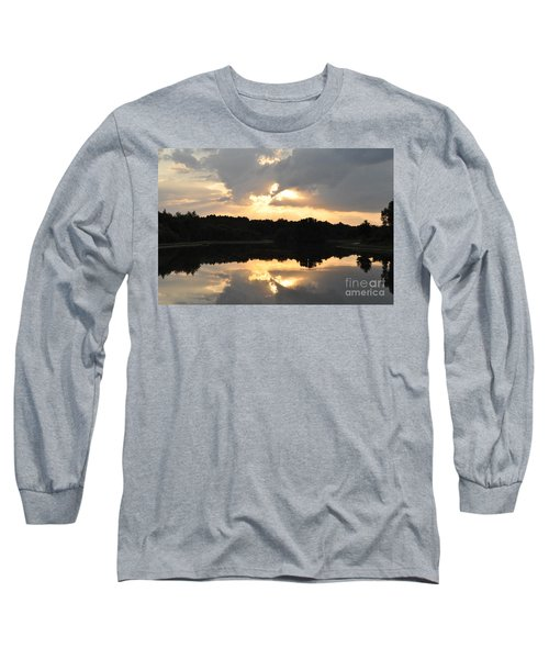 Long Sleeve T-Shirt featuring the photograph Sunset On The Lakefront by John Black