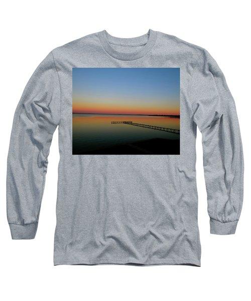Sunset On The Pier Long Sleeve T-Shirt