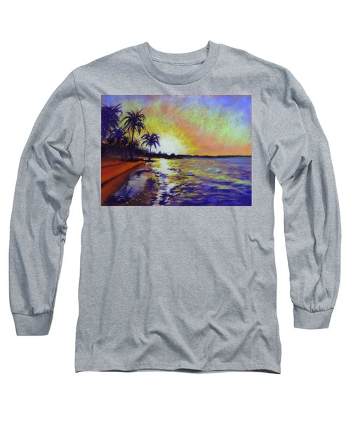 Sunset On The Sea Long Sleeve T-Shirt