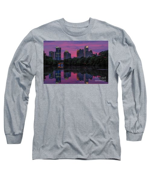 Sunset Over Midtown Long Sleeve T-Shirt