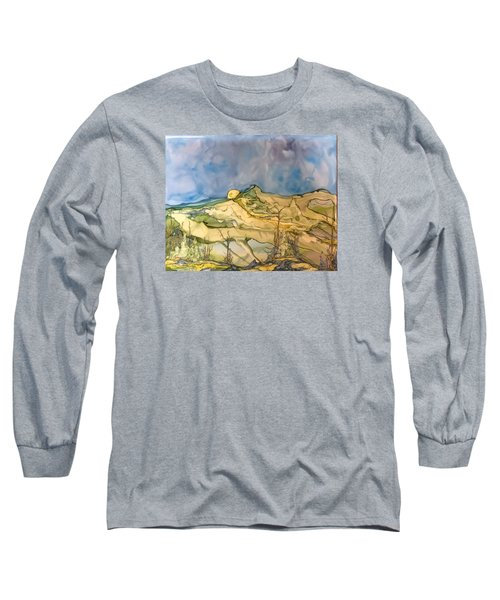 Sunset Long Sleeve T-Shirt by Pat Purdy
