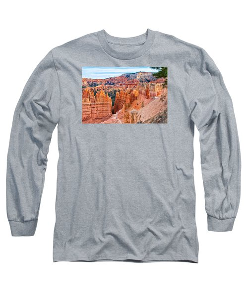 Long Sleeve T-Shirt featuring the photograph Sunset Point Tableau by John M Bailey