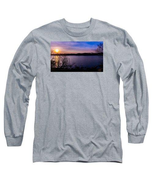 Sunset River Long Sleeve T-Shirt
