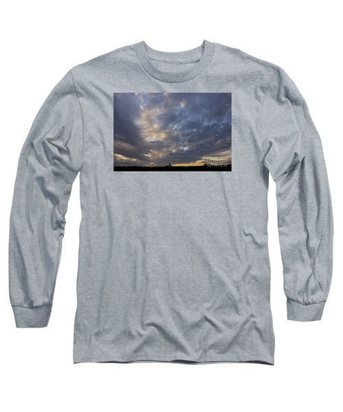 Long Sleeve T-Shirt featuring the photograph Sunset Sky by Inge Riis McDonald