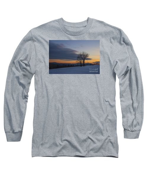 Sunset Solitude Long Sleeve T-Shirt by Alana Ranney
