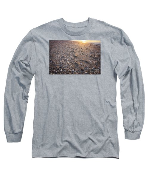 Long Sleeve T-Shirt featuring the photograph Sunset Step by Paul Cammarata