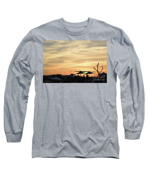 Long Sleeve T-Shirt featuring the photograph Sunset View by Arik Baltinester