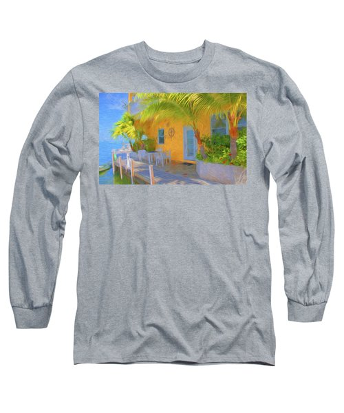 Sunset Villas Waterfront Apartment Long Sleeve T-Shirt