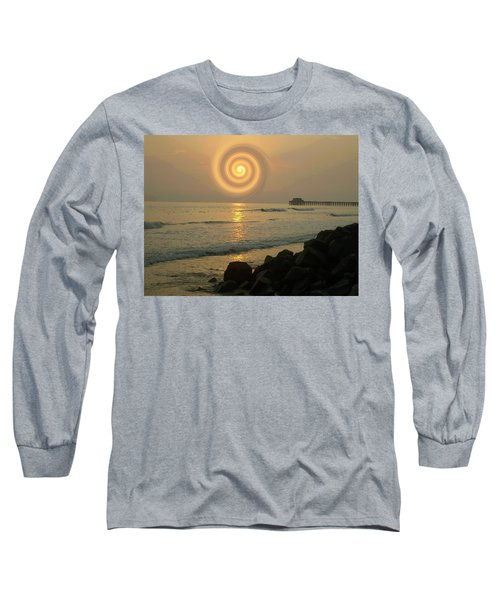 Sunsetswirl Long Sleeve T-Shirt