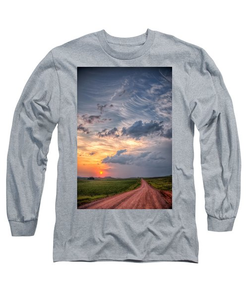 Sunshine And Storm Clouds Long Sleeve T-Shirt