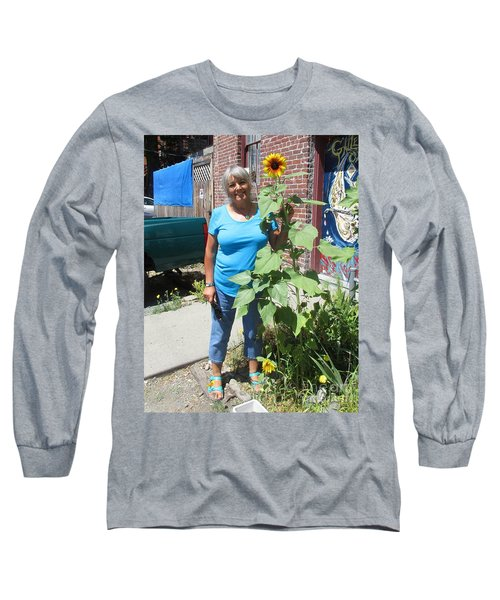 Sunshiny Hello From Marie Long Sleeve T-Shirt