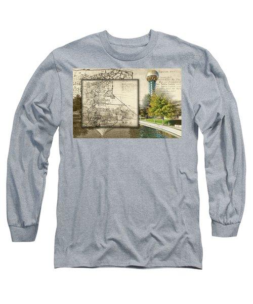 Sunsphere Mapped Long Sleeve T-Shirt