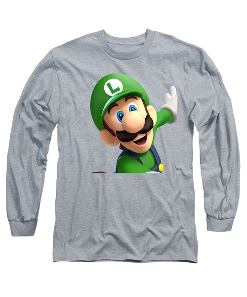 Super Luigi Long Sleeve T-Shirt