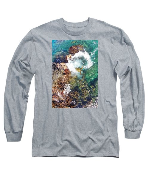 Surfacing Long Sleeve T-Shirt by James Roemmling