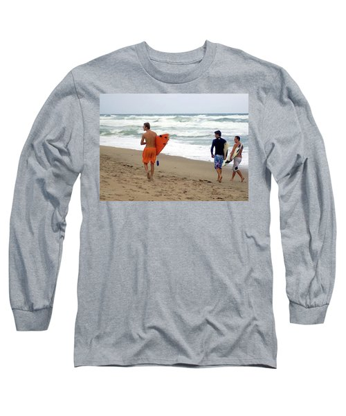 Surfs Up Boys Long Sleeve T-Shirt