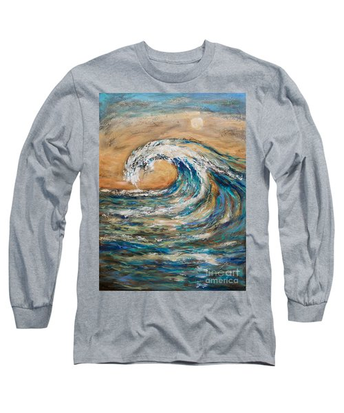 Surf's Up Long Sleeve T-Shirt by Linda Olsen