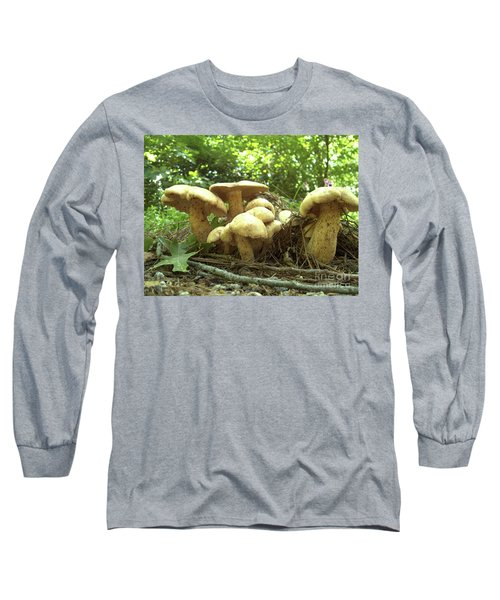 Surprise Fungi In Gibbs Garden Long Sleeve T-Shirt