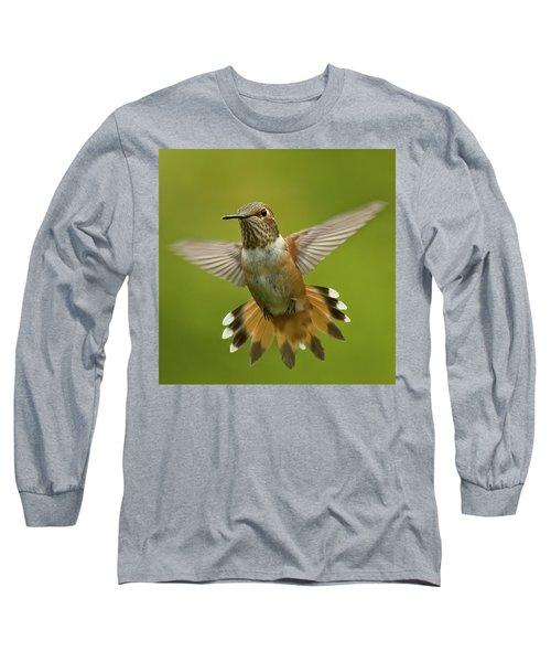 Surprise Long Sleeve T-Shirt by Sheldon Bilsker