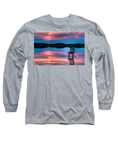 Long Sleeve T-Shirt featuring the photograph Surreal Sunset by Gert Lavsen