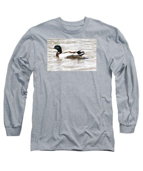 Surrealism Duck Long Sleeve T-Shirt
