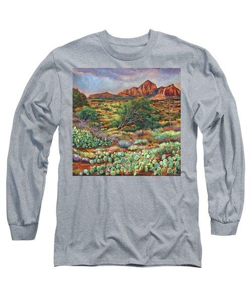 Surrounded By Sedona Long Sleeve T-Shirt
