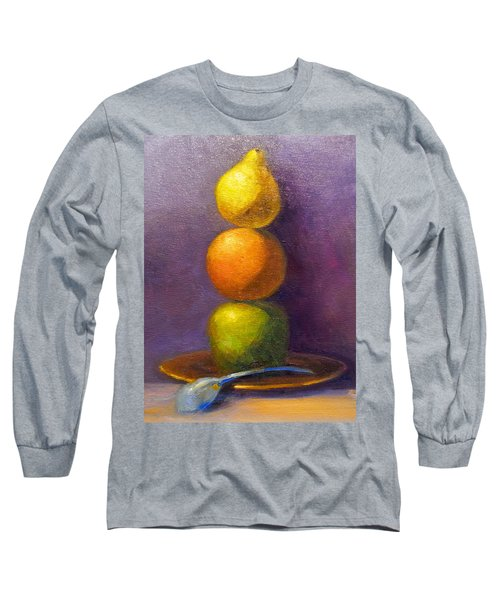 Suspenseful Balance Long Sleeve T-Shirt