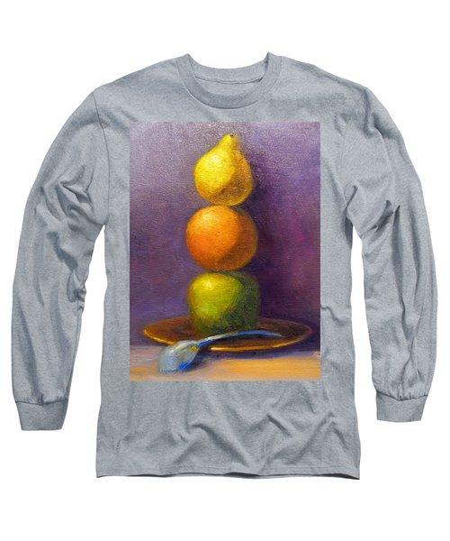 Suspenseful Balance Long Sleeve T-Shirt