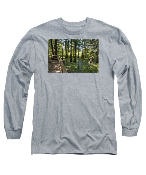 Long Sleeve T-Shirt featuring the photograph Swamps by Helen Haw