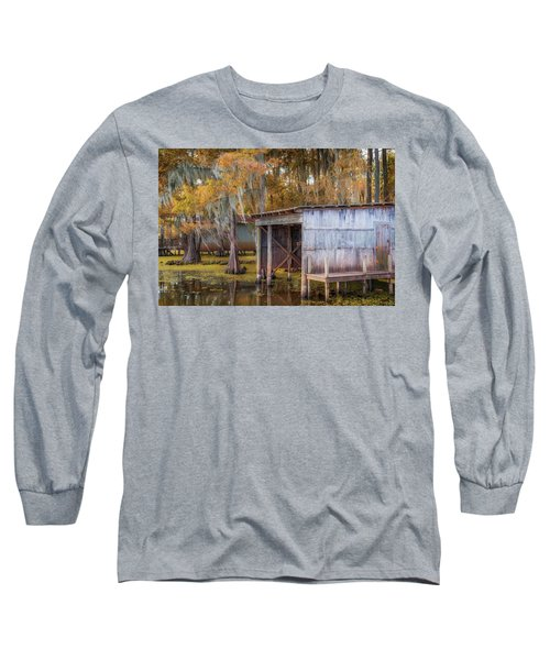 Swampy Dock  Long Sleeve T-Shirt
