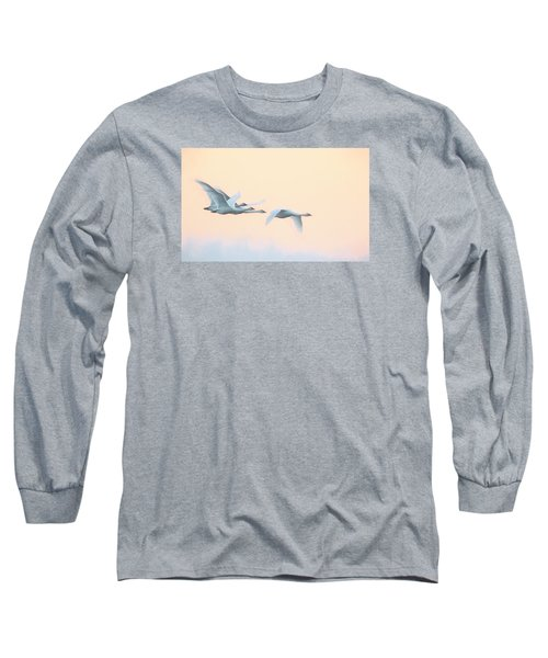 Swan Migration  Long Sleeve T-Shirt