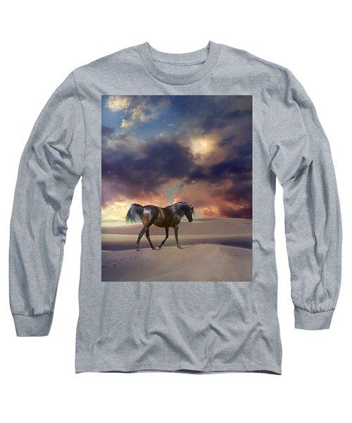 Swan Of Desert Long Sleeve T-Shirt
