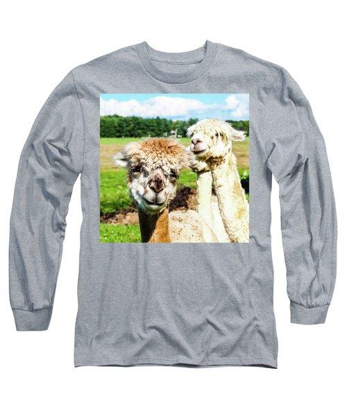 The Soft Joy Of Apacas Long Sleeve T-Shirt