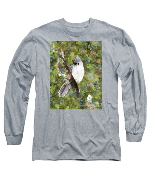 Sweet And Endearing Long Sleeve T-Shirt by Tina  LeCour