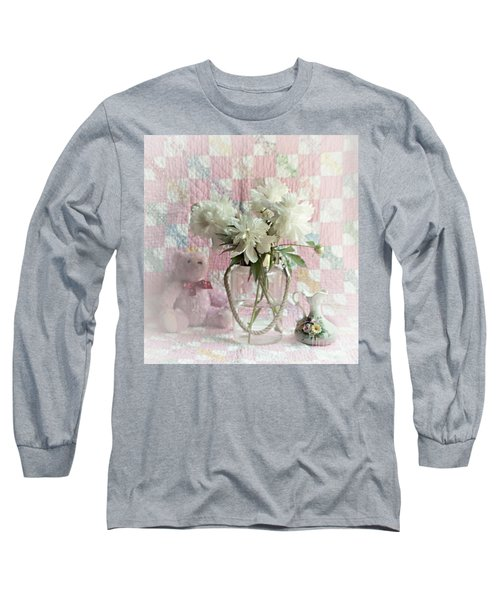 Sweet Memories Of Four Generations Long Sleeve T-Shirt by Sherry Hallemeier