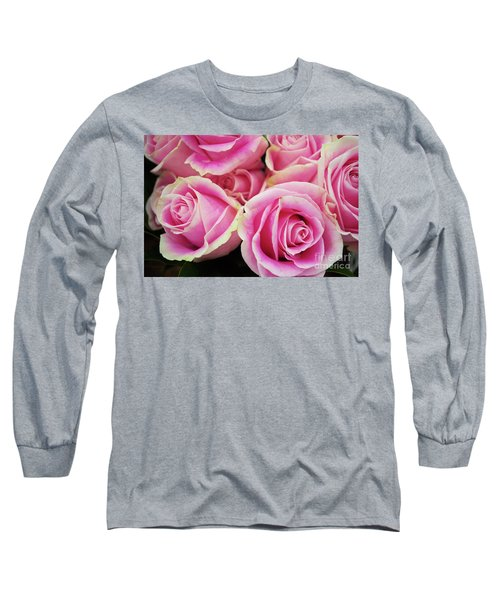 Sweet Rose For All The Lovely Ladies Who Comment On My Work Long Sleeve T-Shirt