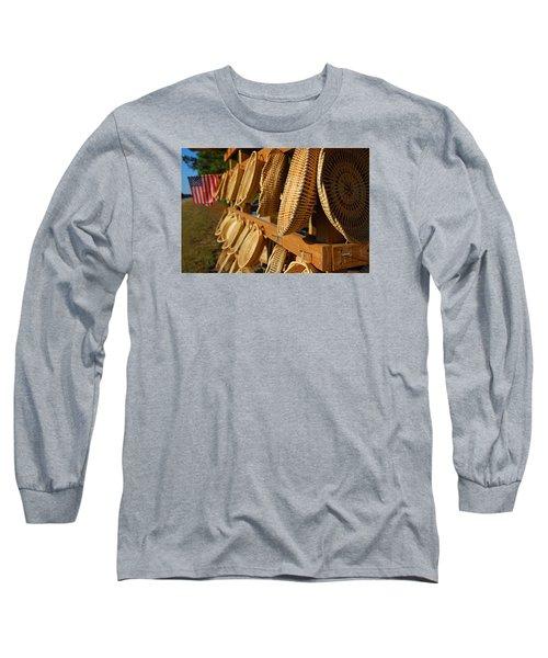Sweetgrass Baskets Long Sleeve T-Shirt