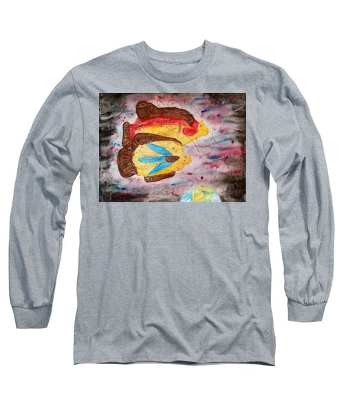 Swimming By Long Sleeve T-Shirt by Thomasina Durkay