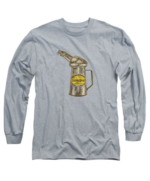 Swingspout Oil Canister Long Sleeve T-Shirt